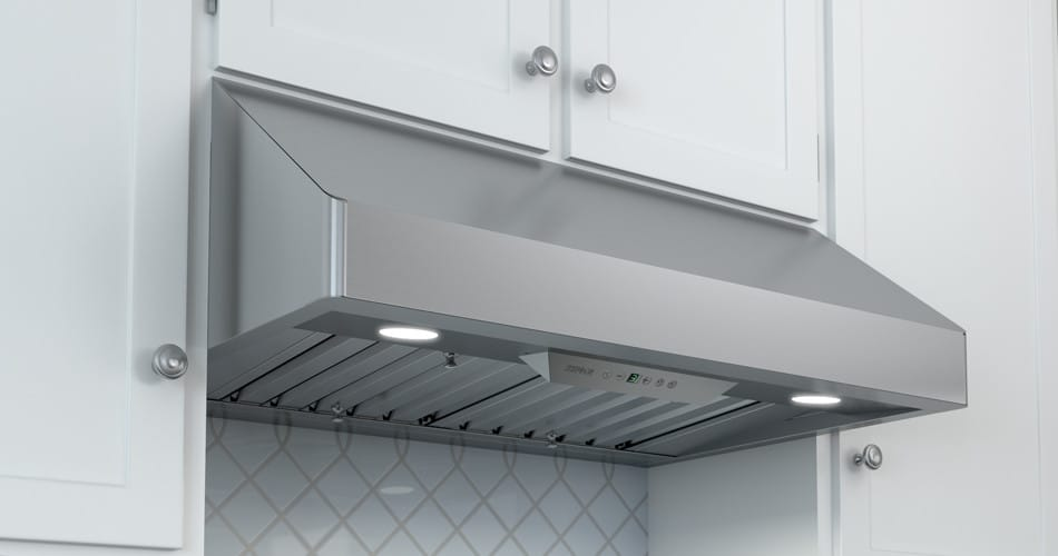 Zephyr Tempest I Series Ak7036bs Under Cabinet Pro Style Range Hood With
