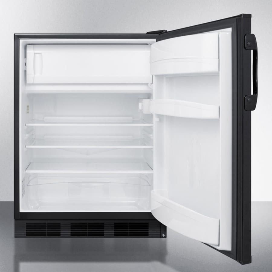 Accucold Al652bbi 24 Inch Built In Under Counter Refrigerator With