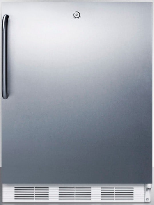 accucold al750lbix 24 inch compact all refrigerator with adjustable glass she. Black Bedroom Furniture Sets. Home Design Ideas