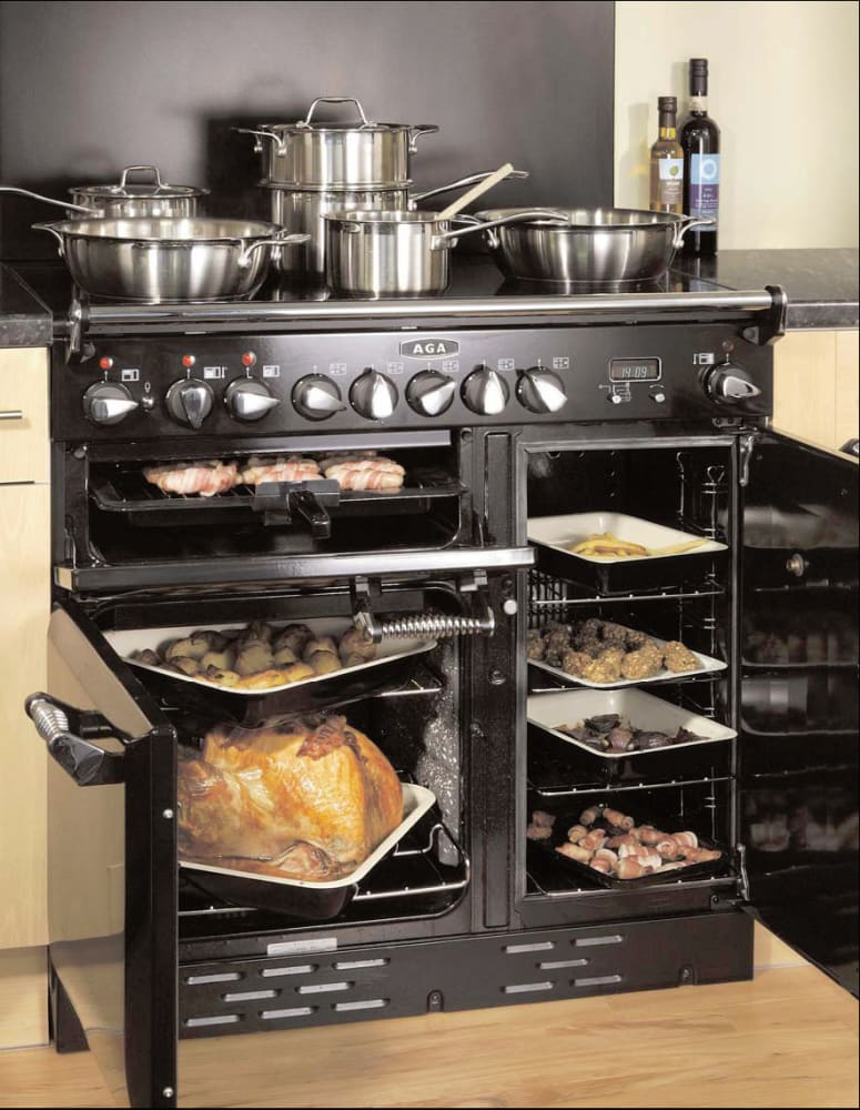 Kitchen Stoves And Ovens ~ Aga aleg e inch pro style electric range with cu
