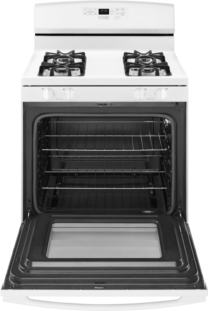 amana agr6603sfw 30 inch gas range with bake assist temperatures easyaccess broiler drawer. Black Bedroom Furniture Sets. Home Design Ideas