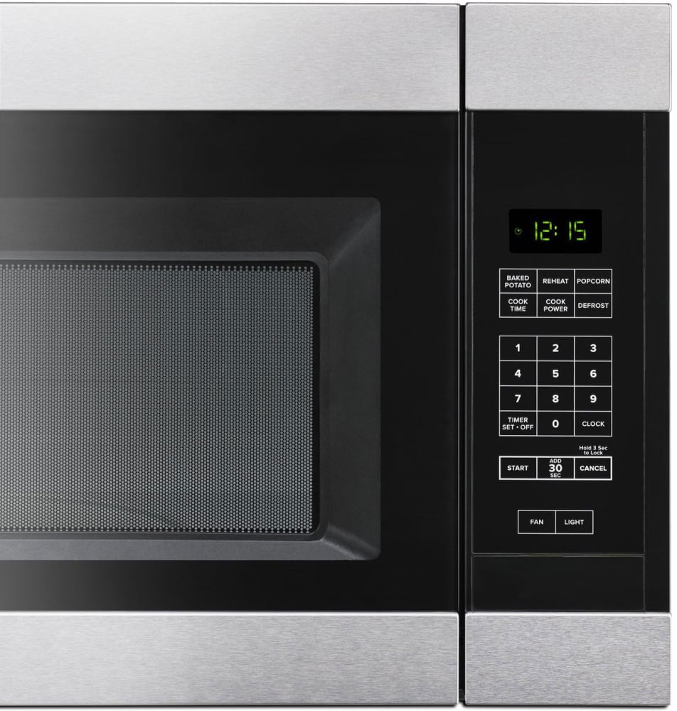 12 inch over the range microwave - Over The Range Microwave In Amana Amv2307pfs Control Panel Detail