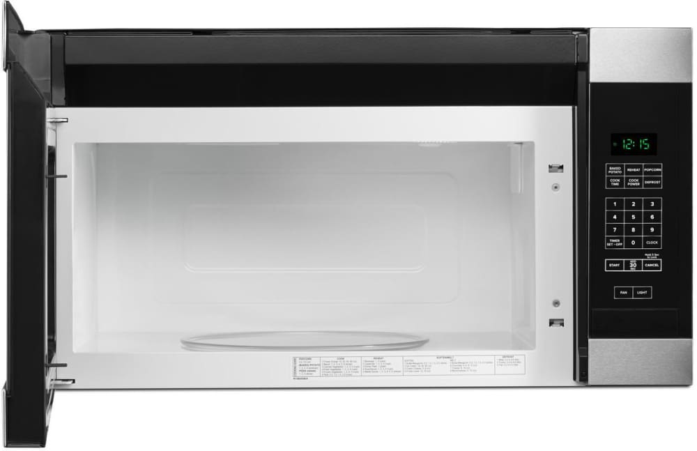 Amana Amv2307pfs Give Your Leftovers Plenty Of Room To Reheat With 1 6 Cu Ft