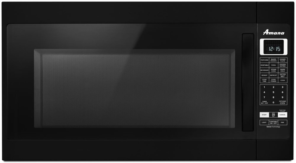 Over The Range Black Microwave With