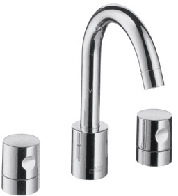 hansgrohe 38033001 double knob lavatory faucet with 5 5 8 inch reach 9 1 2 inch height 90. Black Bedroom Furniture Sets. Home Design Ideas