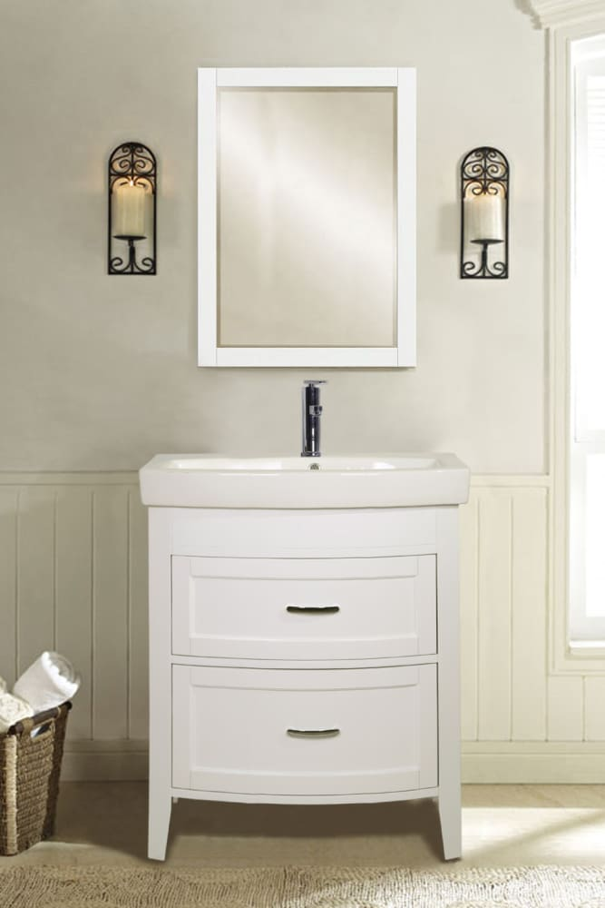 Superbe Empire Industries Arch Collection A2802W   Empire Industries 2 Drawer Vanity  (also Available In