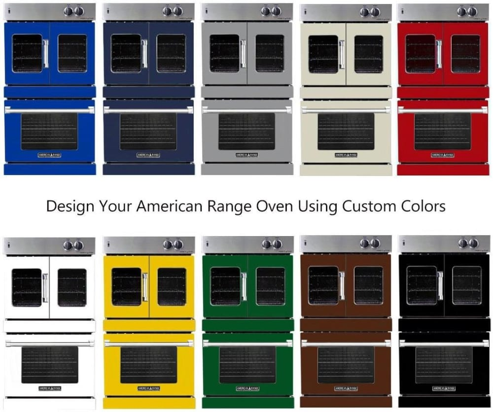 American Range Arofsg230n 30 Inch Double French Chef Door