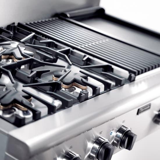 ge profile 36 5 burner gas cooktop