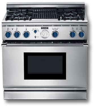 Thermador Pg364glblp 36 Inch Pro Style All Gas Range With