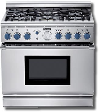 Thermador Pg366bs 36 Inch Pro Style All Gas Range With 6