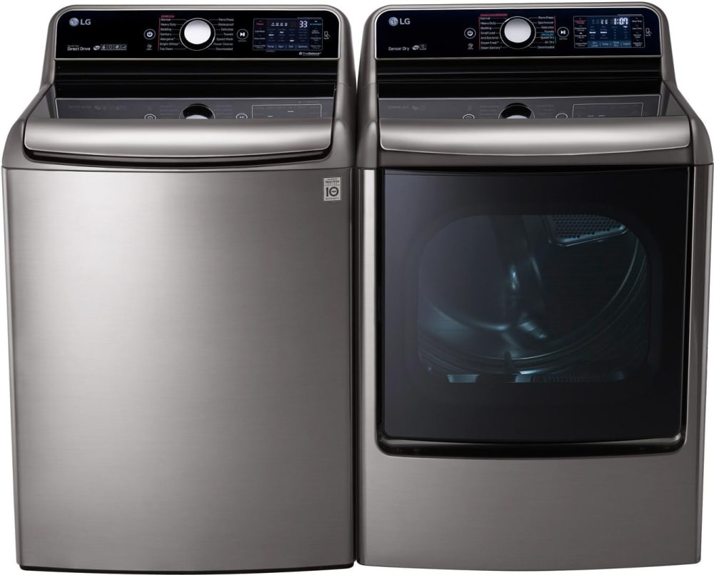 Lg Lgwadrgv32 Side By Side Washer Amp Dryer Set With Top