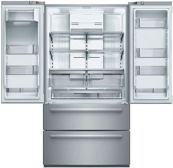 ... 4 Door Counter Depth Refrigerator Bosch 800 Series B21CL80SNS   Total  Gross Capacity Of 20.7 Cu. Ft.