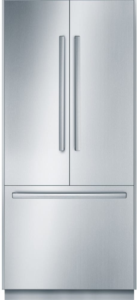 ... Panel Ready Design Bosch Benchmark Series B36IT800NP   French Door  Refrigerator With Stainless Steel Door, ...
