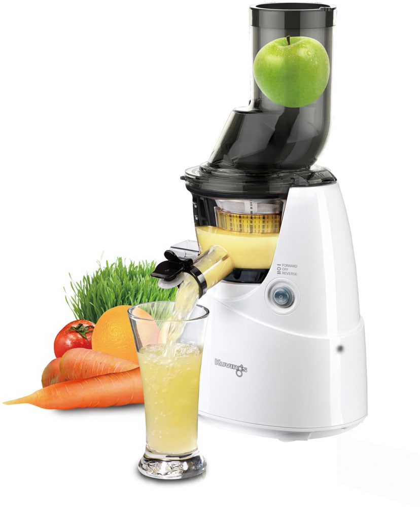 Kuvings Whole Slow Juicer White B6000w : Kuvings B6000W Whole Slow Juicer with J.M.C.S Technology, Extra-Wide Chute, Smart Cap, Sorbet ...