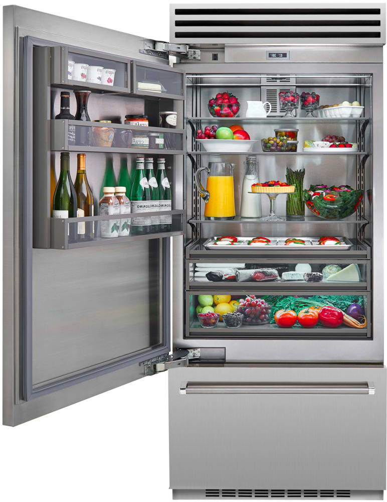 ... BlueStar BBB36SSL1   Inspired By Refrigerators In Professional Chefsu0027  Kitchens, This Refrigerator Features Sturdy ...