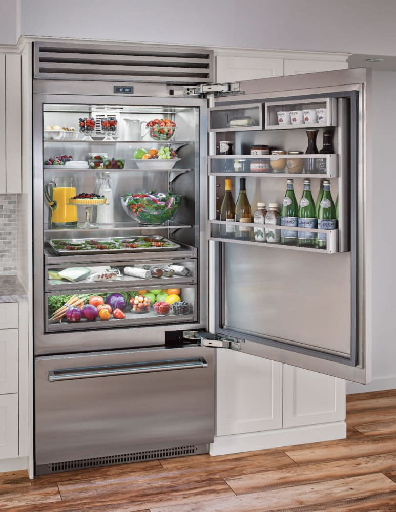 You Bluestar Bbb36r2 36 Built In Bottom Freezer Refrigerator