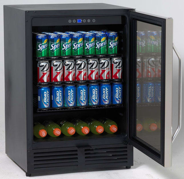 Avanti Bca516ss 24 Inch Undercounter Beverage Cooler With