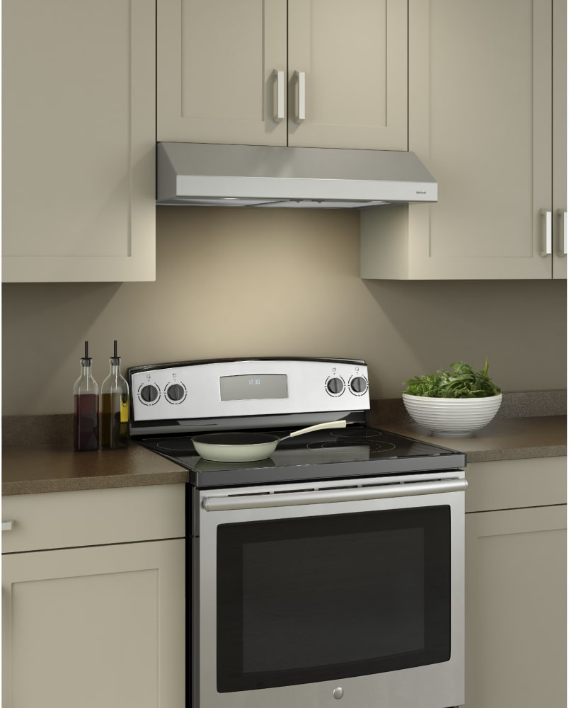 Broan BCSD124SS 24 Inch Under Cabinet Range Hood with ...