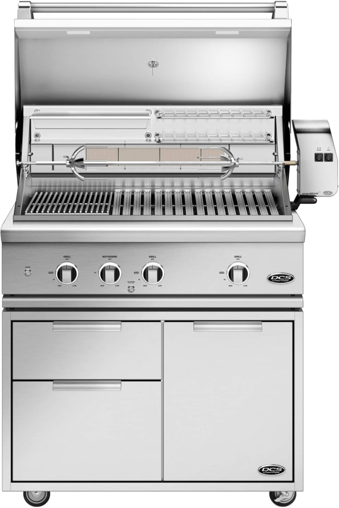 Dcs Be136rcn 36 Inch Built In Grill With Infrared Rotisserie
