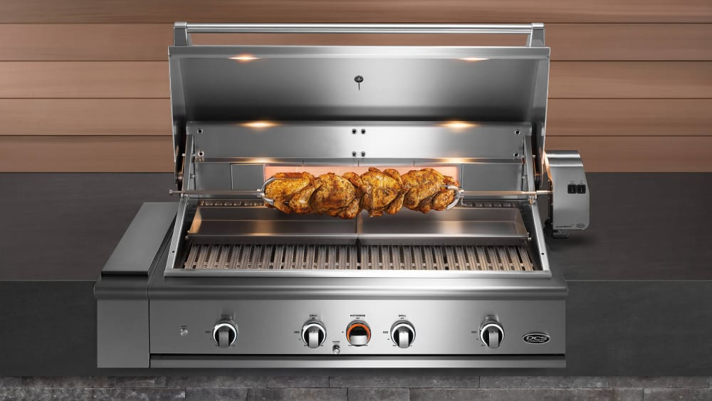 Dcs Be148rcn 48 Inch Built In Grill With Infrared Rotisserie