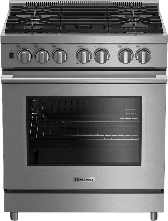 Blomberg BGRP34520SS - 30\ 30 Inch Pro Gas Range with Convection, Power