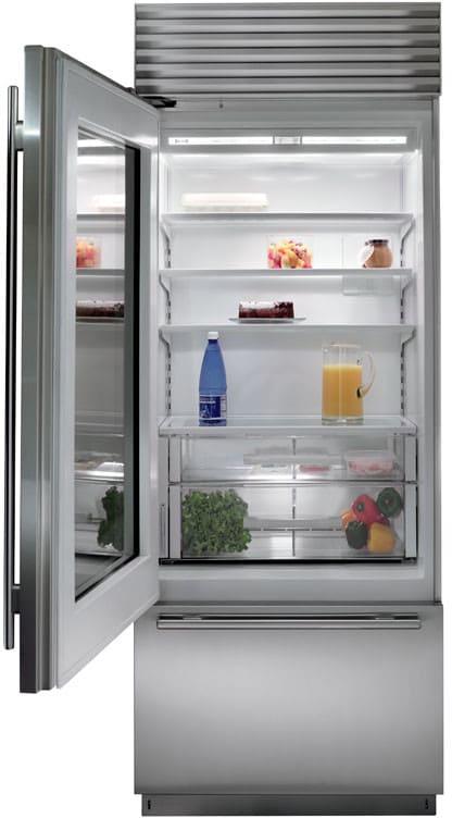 Sub-Zero BI30UGSPH 30 Inch Built-in Bottom-Freezer Refrigerator with on