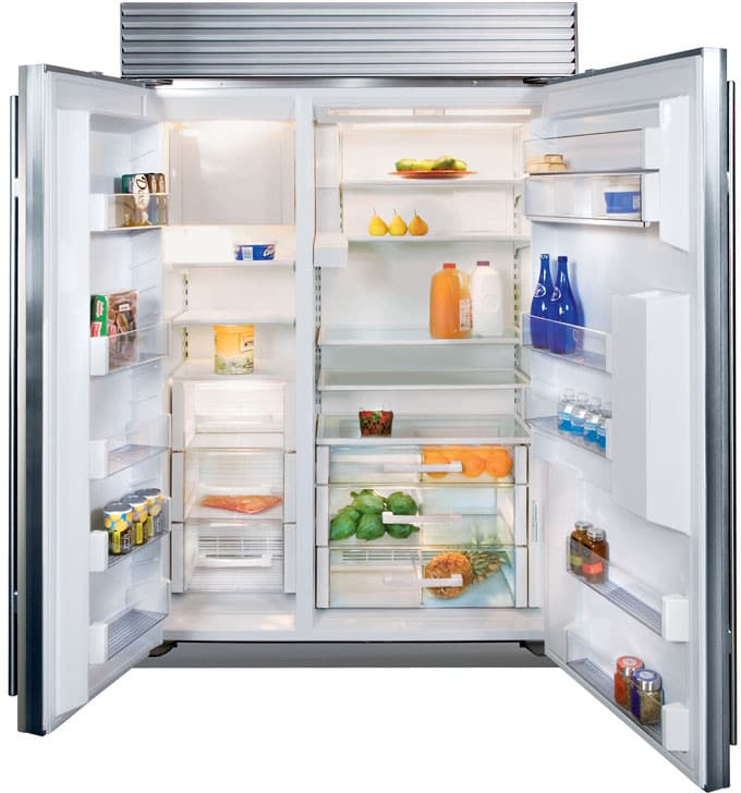 Sub Zero Bi48sd 48 Inch Built In Side By Side Refrigerator