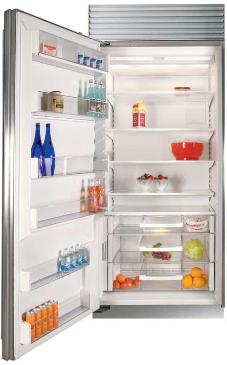 Sub Zero Bi36rsthlh 36 Inch Built In Full Refrigerator