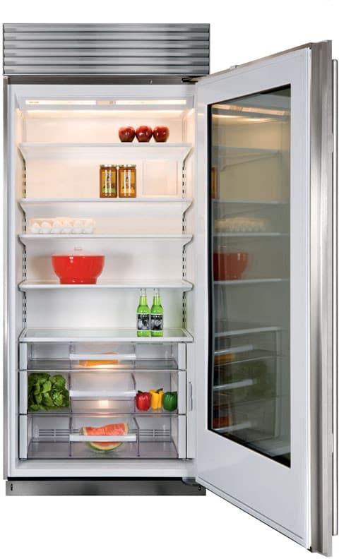Sub Zero Bi36rgsphrh 36 Inch Built In Full Refrigerator With 234 Cu
