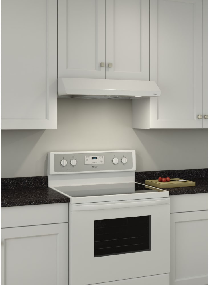 Broan Bksa130ww 30 Inch Under Cabinet Range Hood With