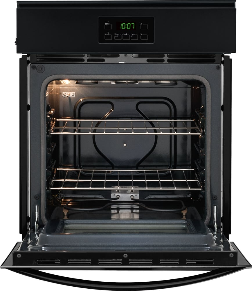 Electric Oven Open ~ Frigidaire ffew qb inch single electric wall oven