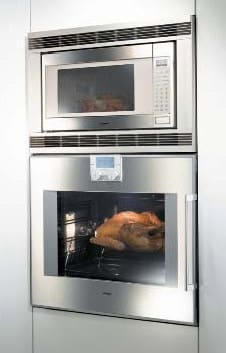 Gaggenau 200 Series Bm281710 Installed With Single Oven