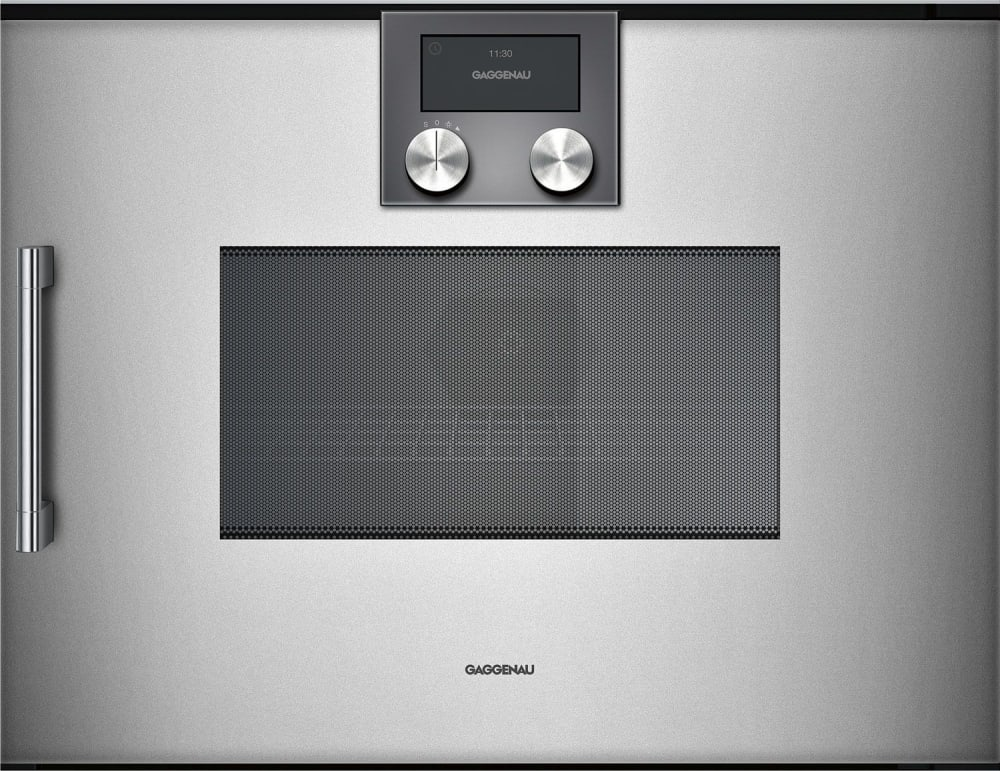 Gaggenau Bmp250710 24 Inch Speed Oven With Rotary Knob And