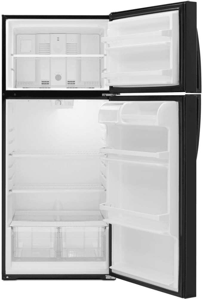 open refrigerator png. whirlpool wrt106tfdb - front view open refrigerator png r