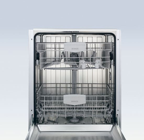 Bosch Shv45m03uc Fully Integrated Dishwasher With 4 Wash Cycles