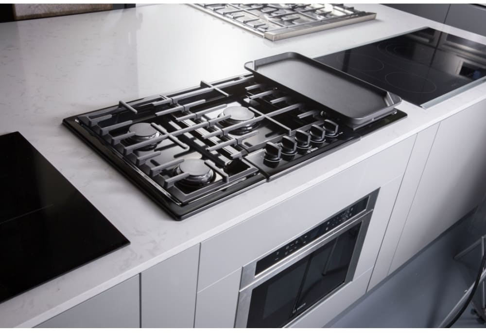 Bosch Ngm8665uc 37 Inch Gas Cooktop With Automatic Re