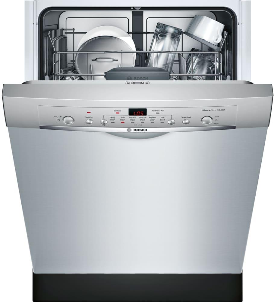 Bosch She3ar75uc 24 Inch Full Console Dishwasher With 24 7
