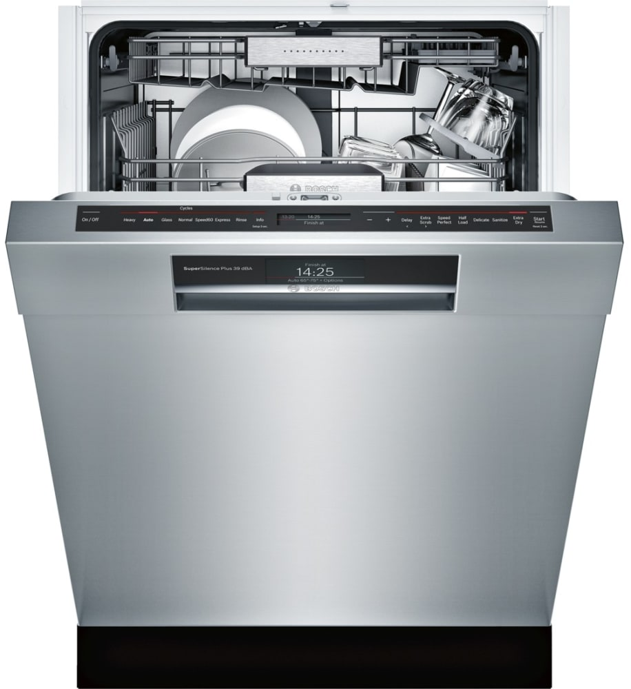 Bosch She89pw55n Semi Integrated Dishwasher With Myway