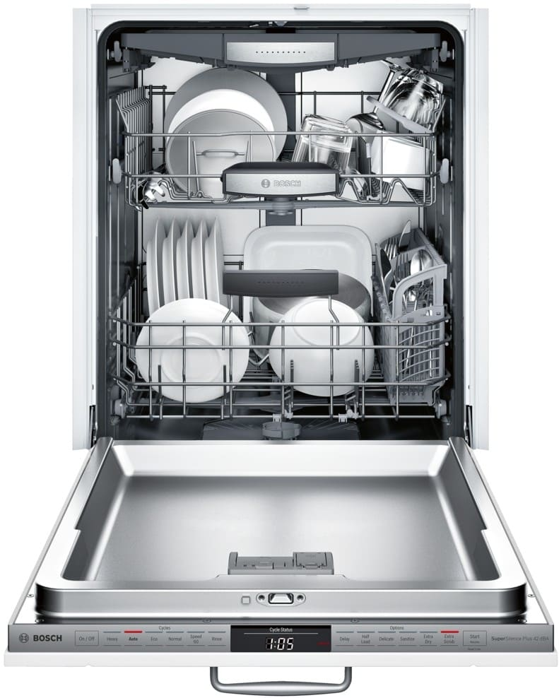 Delicieux ... Panel Bosch 800 DLX Series SHV878WD3N   Open View