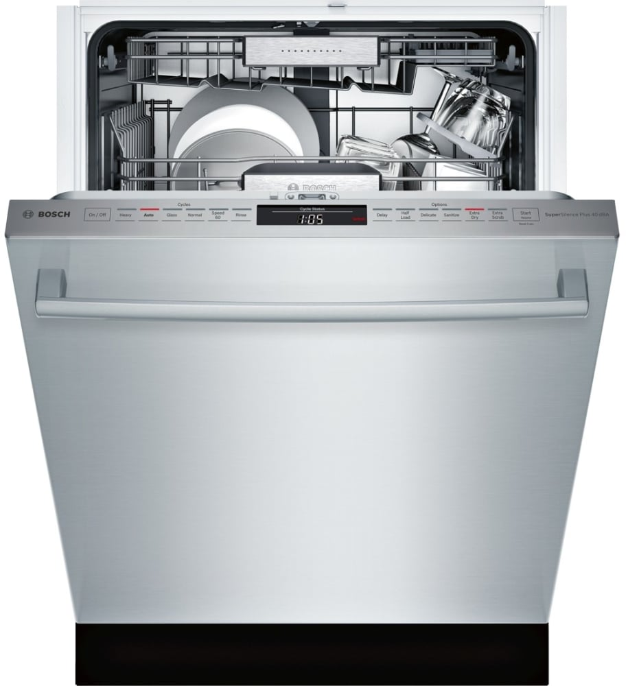 Bosch Shx88pw55n Fully Integrated Dishwasher With Myway