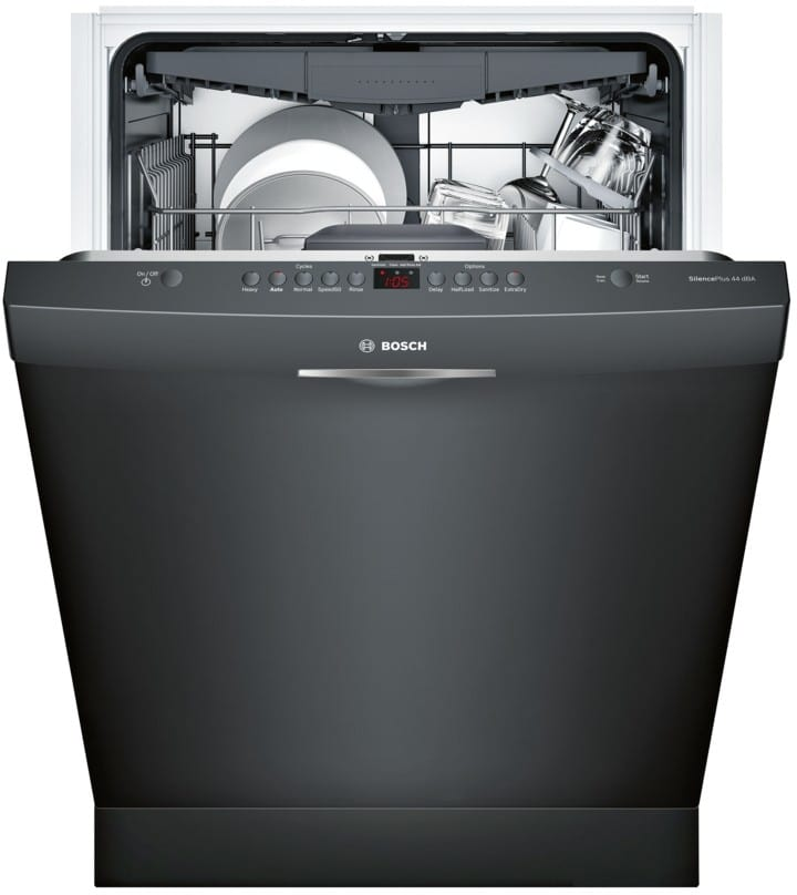 bosch shsm63w56n fully integrated dishwasher with 3rd rack. Black Bedroom Furniture Sets. Home Design Ideas