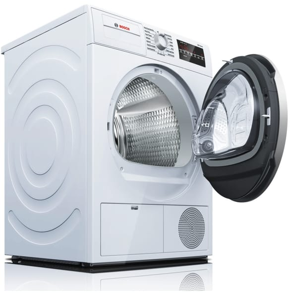 Bosch WTG86401UC 24 Inch Ventless Electric Dryer with Double Lint ...
