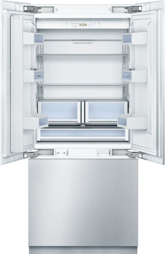 ... Bosch Benchmark Series B36IT800NP   French Door Refrigerator With  Stainless Steel Door, Shown With
