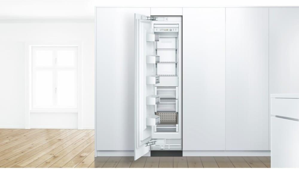 Bosch b18if800sp 18 inch built in freezer column with 8 6 for 18 inch interior glass door