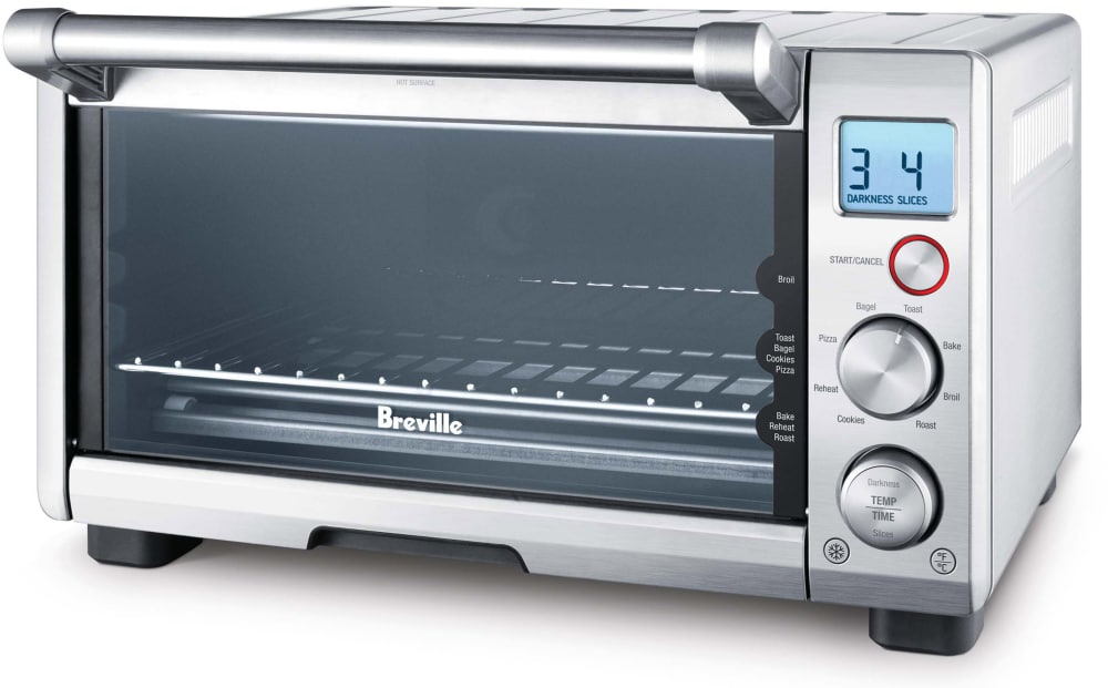 Breville BOV650XL Compact Smart Oven® with Element IQ®, 8 Presets