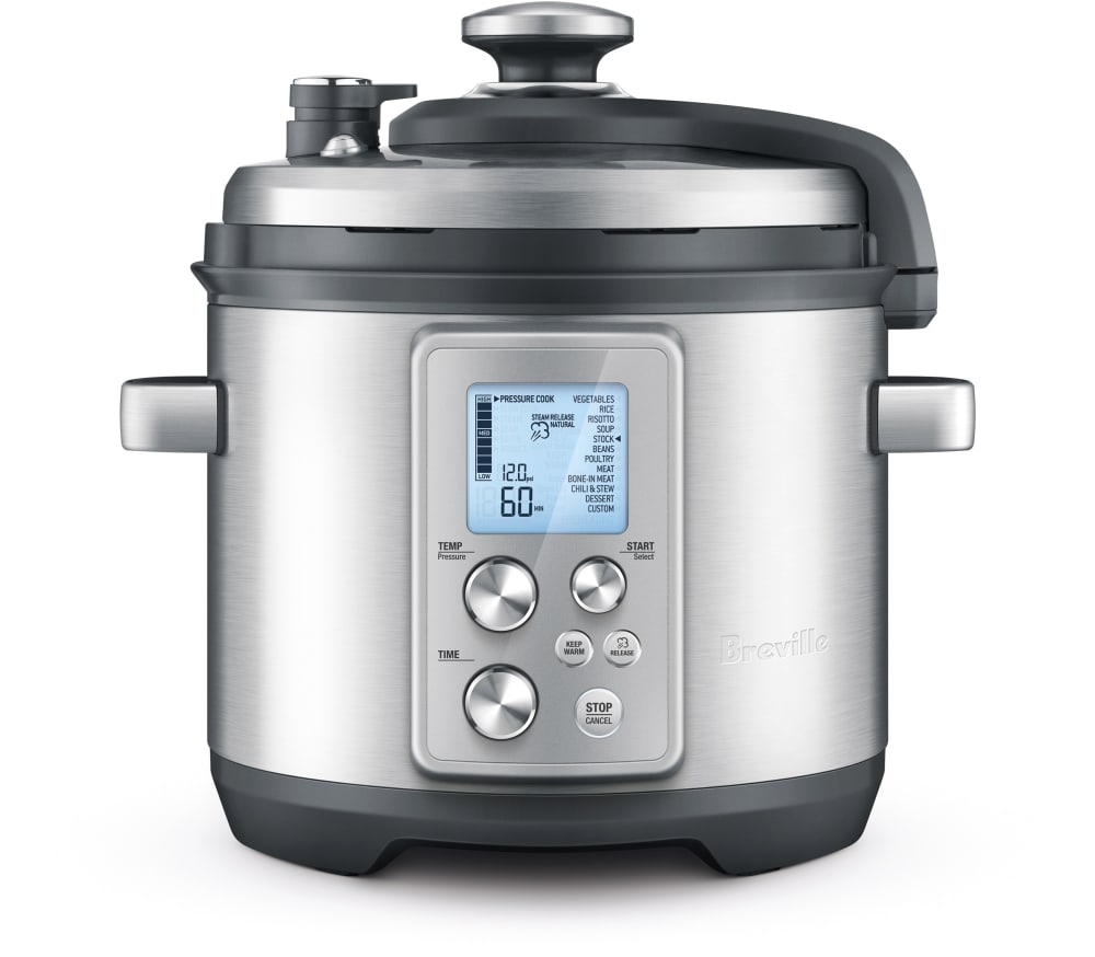 Breville bpr700bss fast slow pro pressure cooker with for Ajmadison