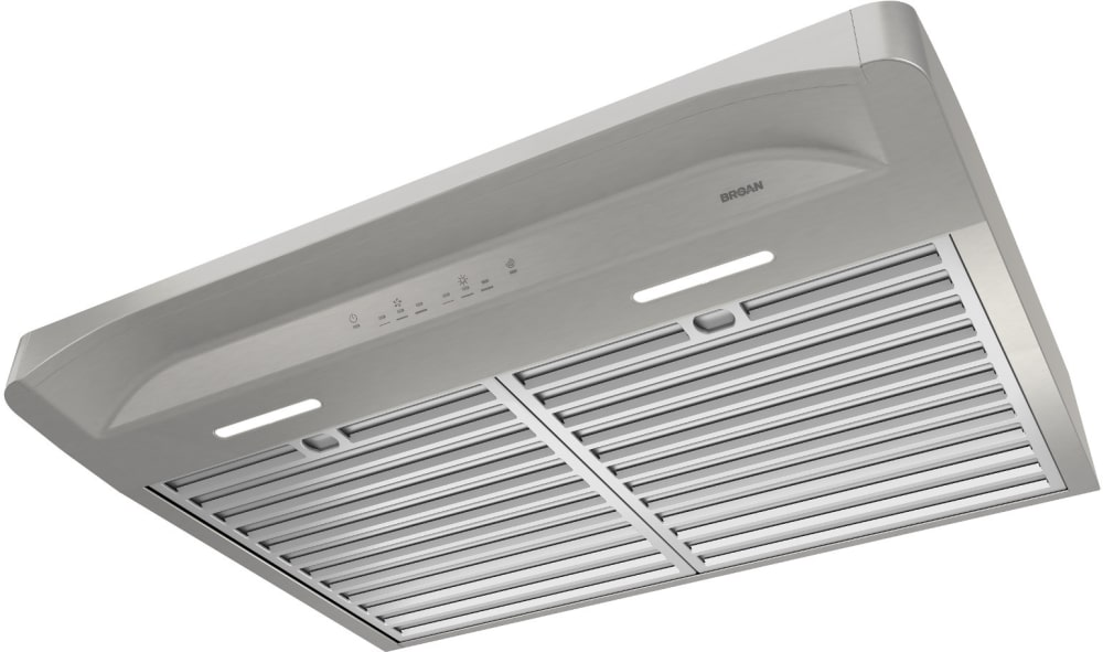 Broan bqla130ss 30 inch under cabinet range hood with heat for Broan vent a hood