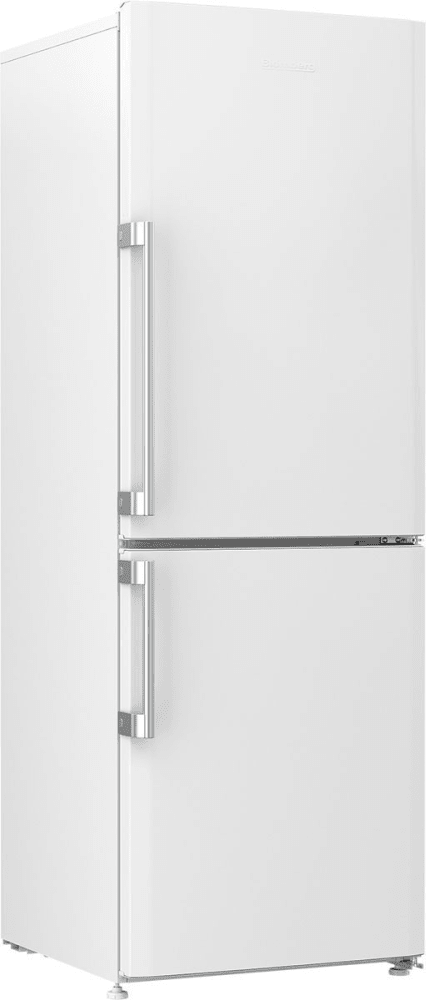 blomberg brfb1044wh 24 inch freestanding counter depth bottom freezer refrigerator with duo. Black Bedroom Furniture Sets. Home Design Ideas