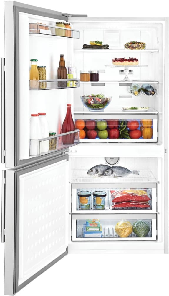 blomberg brfb18 dual evaporator design prevents flavor share between and freezer - Counter Depth