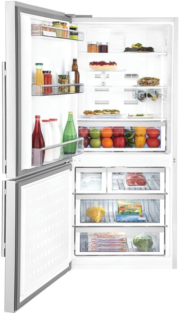 Blomberg Brfb1822ssln 30 Inch Bottom Freezer Refrigerator
